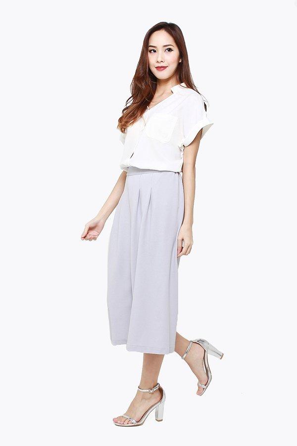 Embody Efficacy Culottes Lilac Grey