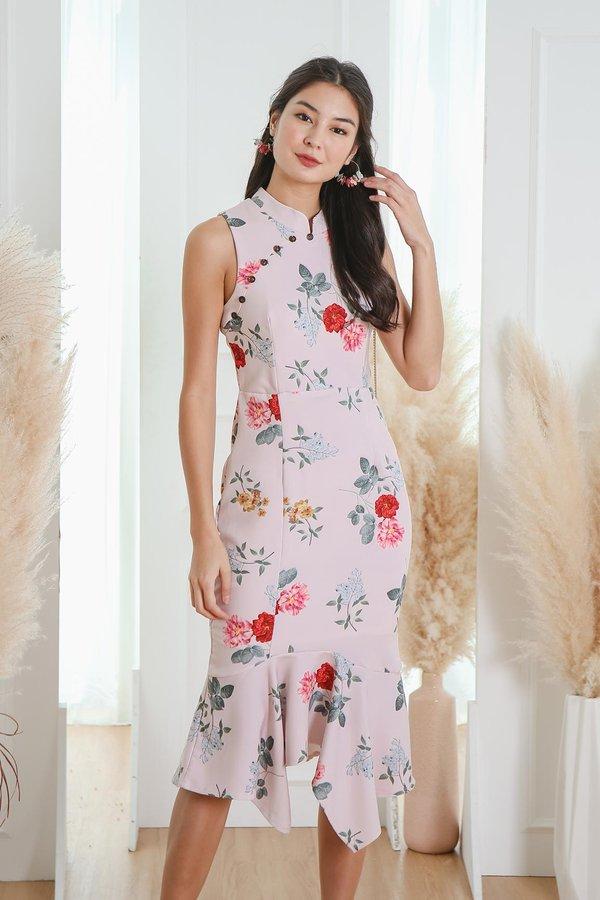 Heritage Heirlooms Trumpet Dress Blush Peony