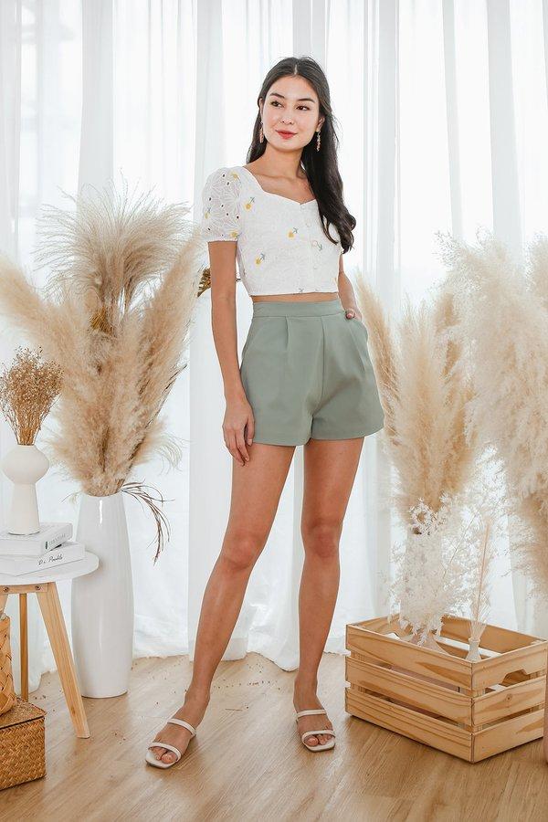 Clean Slate Pocket Shorts Green