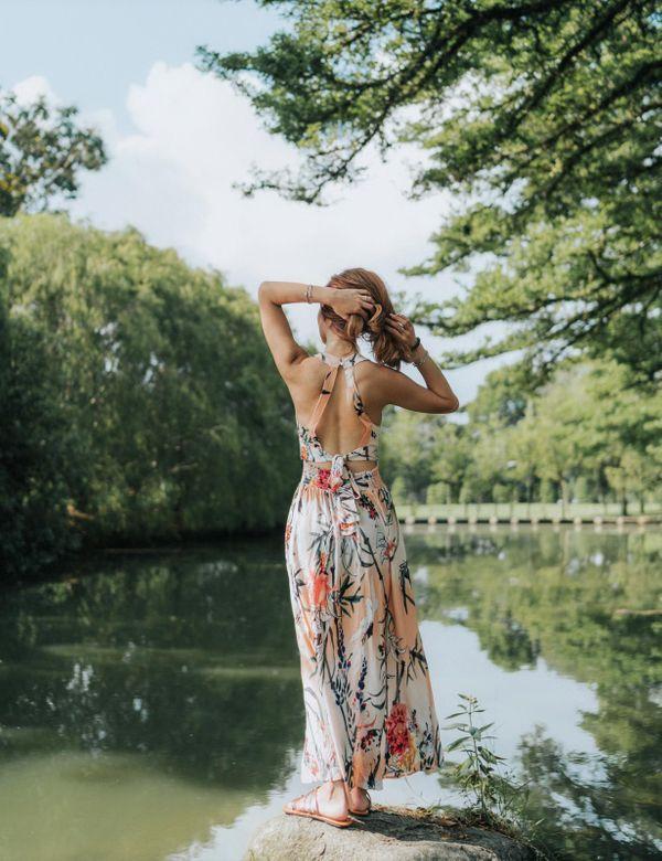 Worn to Wanderlust Maxi Dress