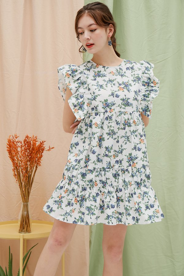 Room to Bloom Babydoll Tier Dress