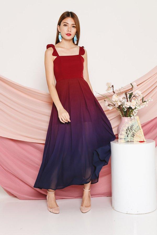Fairytale Flutters Ombre Maxi Dress Dusk