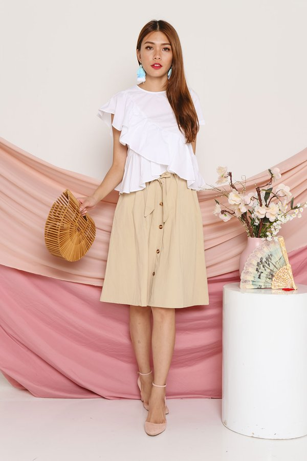 Volumes of Vogue Ruffle Blouse