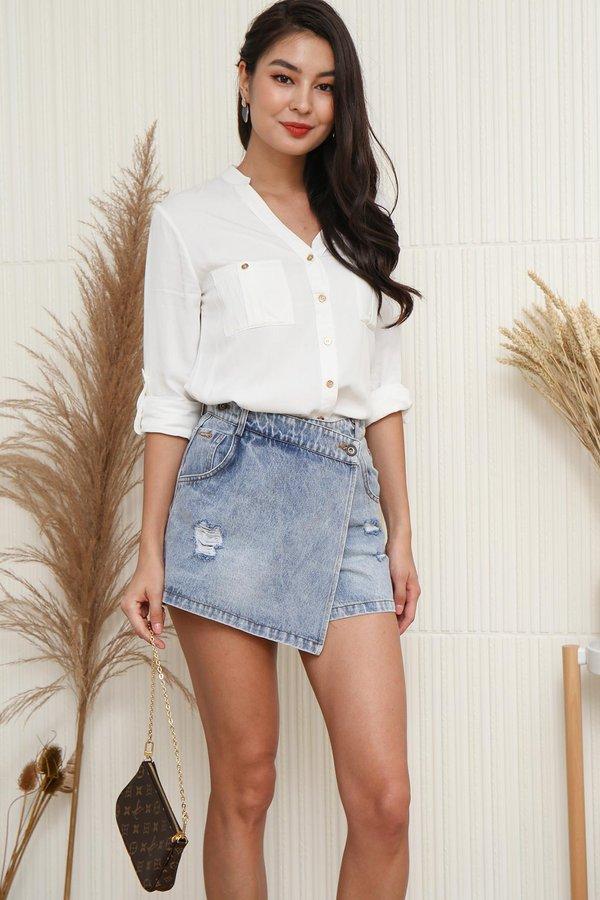 Basic Wardrobe Requirement Utility Shirt White