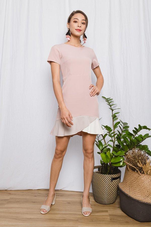 Colour Curves Shift Dress Pink