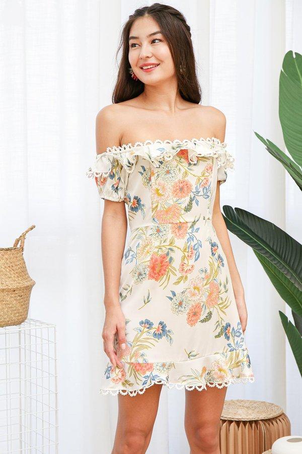 Flourishing Arches Floral Dress