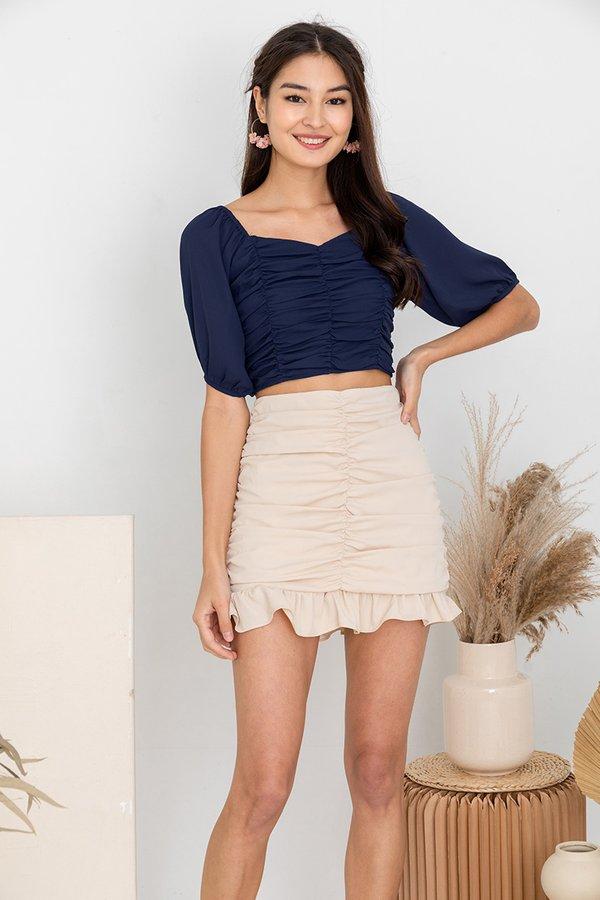 Spun in Stirring Shirs Skirt Cream
