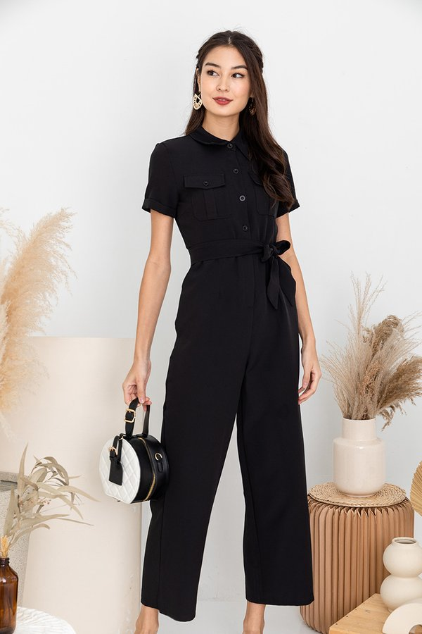 Full Unity with Utility Jumpsuit Black